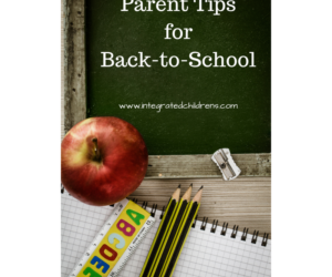Parent Tips for Back-to-School