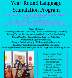 Introducing ICT Year-Round Language Stimulation Program