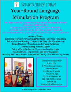 Introducing ICT Year-Round Language Stimulation Program