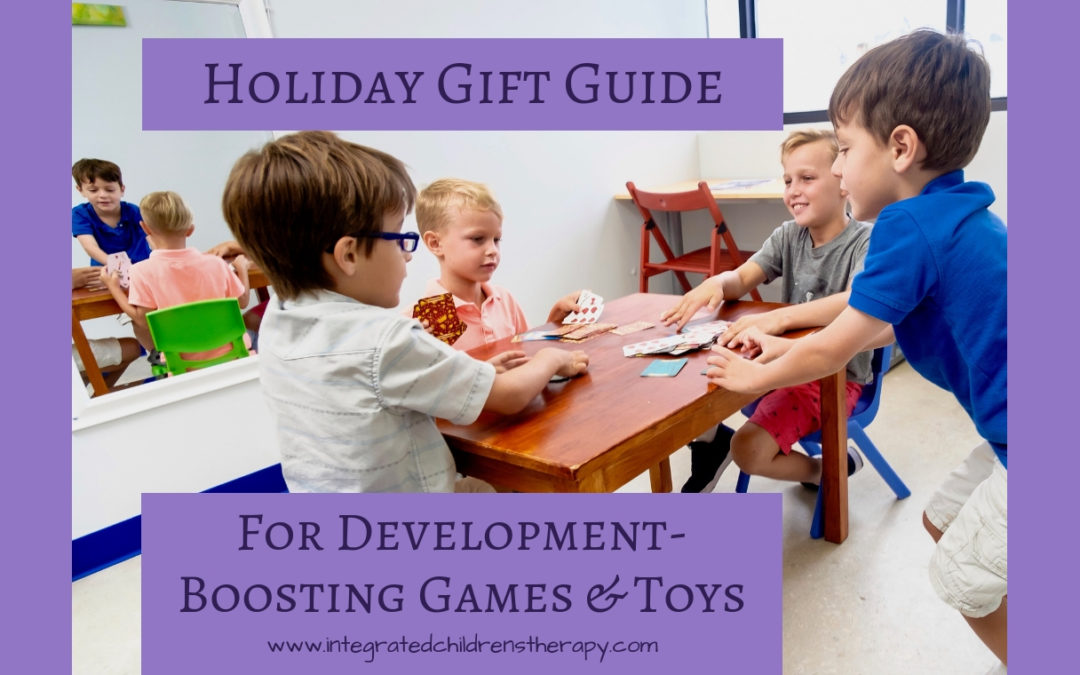 Holiday Gift Guide for Development-Boosting Games & Toys
