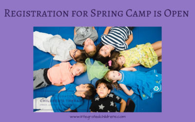 Registration for Spring Camp Is Open