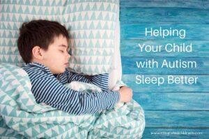 Helping children with autism sleep better